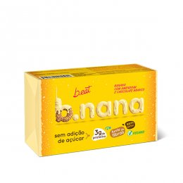 B.nana Amendoim com Chocolate Branco Pack 3 Unidades 35g - B Eat