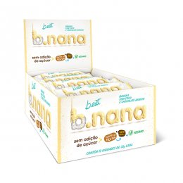B.nana Coco com Chocolate Branco Display 12x35g - B-Eat