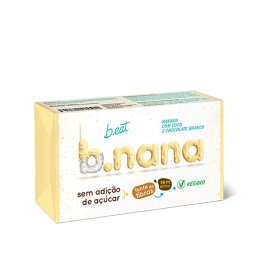 B.nana Coco com Chocolate Branco Pack 3 Unidades 35g - B Eat