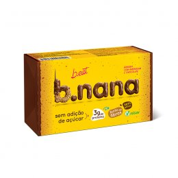 B.nana Amendoim com Chocolate Pack 3 Unidades 35g - B-Eat
