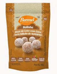 Bolinha de Doce de Leite com Coco Zero 60g - Flormel