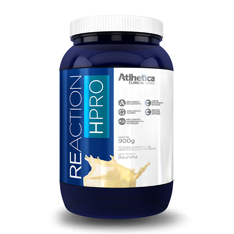 Reaction HPRO (900g) Atlhetica Nutrition -Morango