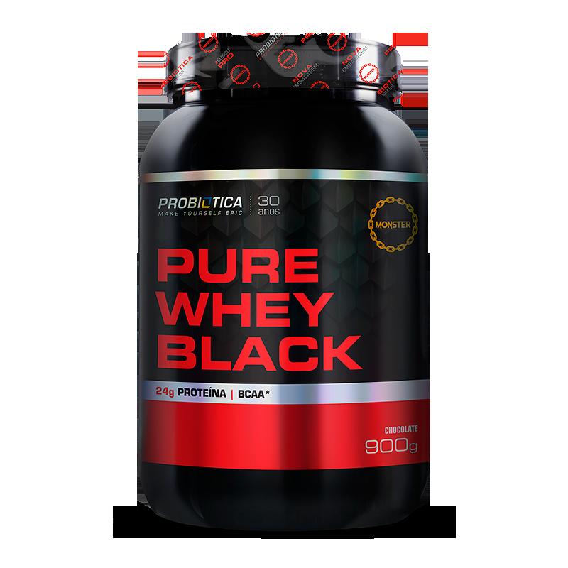 Pure Whey Black (900g) Probiótica