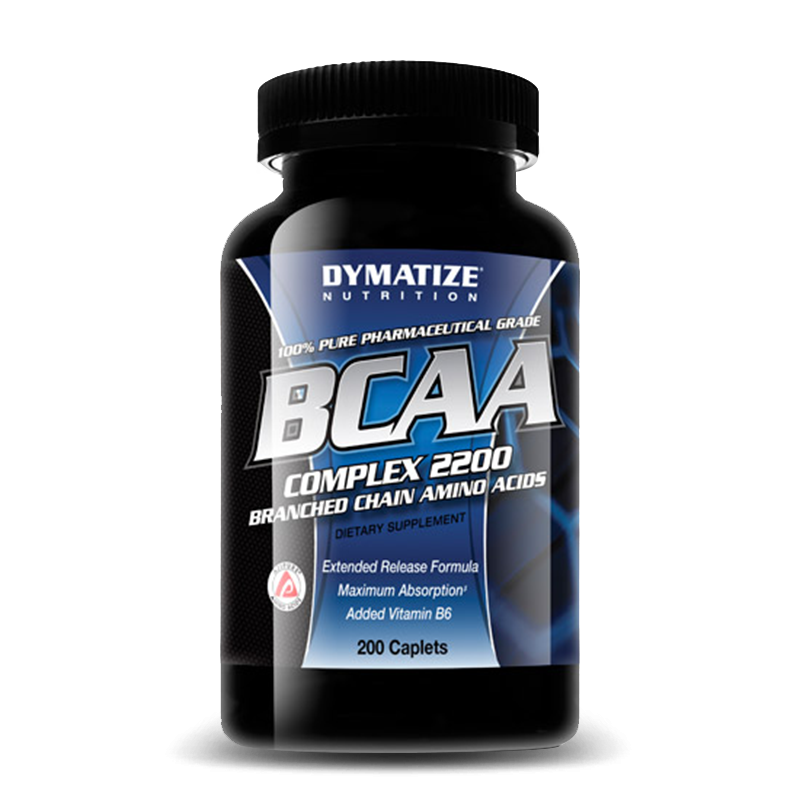 BCAA Complex 2200 (200caps)Dymatize