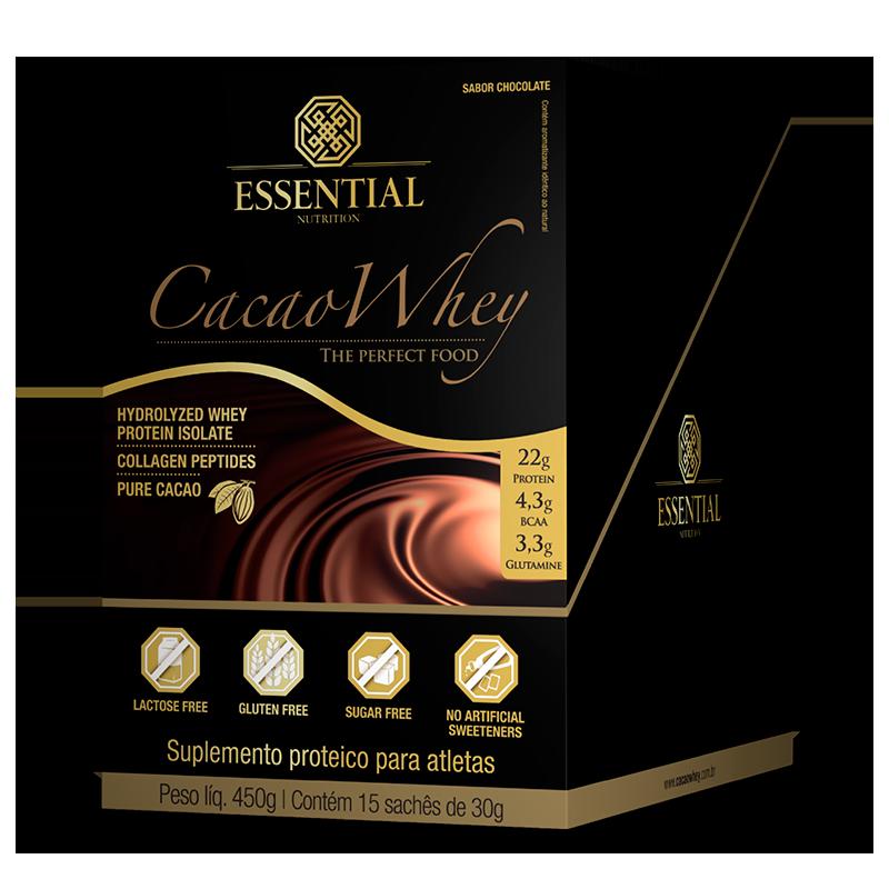 Cacao Whey (15 Sachês-30g) Essential Nutrition