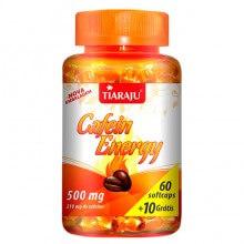 Imagem - Cafein Energy 210mg (60caps + 10 Grátis) - Tiaraju