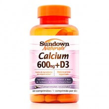 Calcium 600mg + D3 (60comps) - Sundown