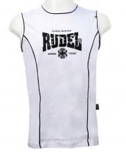 Camiseta sem Manga Machio (Branca) - Rudel