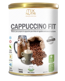 Cappuccino Fit 300g - Mix Nutri