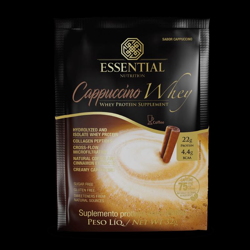 Cappuccino Whey (Sachê-32g) Essential Nutrition