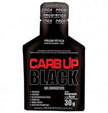 Carb Up Gel Black (sachê 30g) - Probiótica