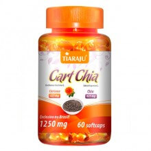 Cart Chia 1250mg (60caps) - Tiaraju
