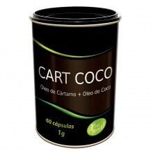 Cart Coco (Óleo de cártamo + Óleo de coco) 1000mg (60caps) - Tiaraju