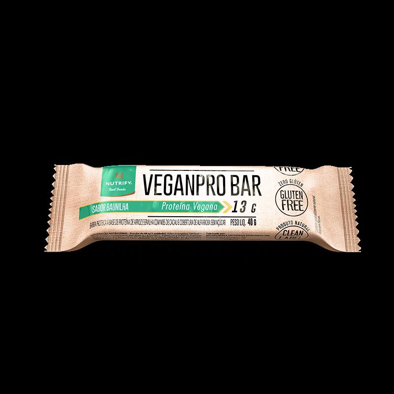 VeganPro Bar (Unid-40g) Nutrify-Baunilha