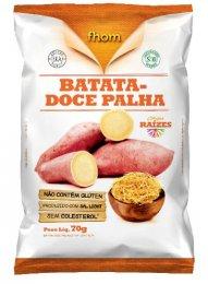 Chips de Batata Doce Palha 70g- Fhom