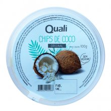Chips de Coco Original (100g) - Qualicôco