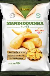 Chips de Mandioquinha 45 g - Fhom