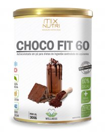Choco Fit 60% Cacau 300g - Mix Nutri
