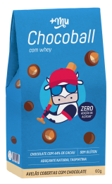 Chocoball Drageado 60g - +Mu