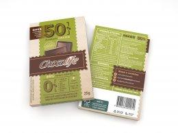Chocolife 50% Cacau 25g - Chocolife