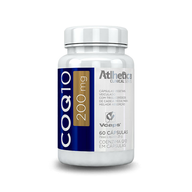 Coq10 200mg (60caps) Atlhetica Nutrition