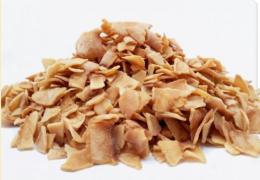 Coco Chips Queimado Granel 200g - Biopoint