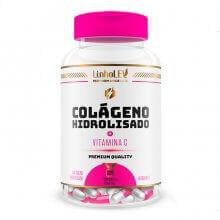 Colágeno Hidrolisado com Vitamina C (600mg) (120caps) - Linholev