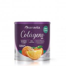 Colágeno Skin Men Care Laranja e Tangerina 300g - Sanavita