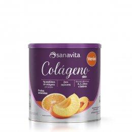 Colágeno Skin Verão Frutas Amarelas 300g - Sanavita