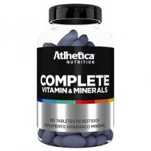 Complete Vitamin Minerals (100tabs) - Atlhetica Nutrition