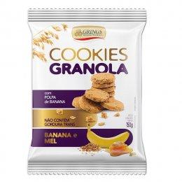 Cookies Granola Banana e Mel 150g - Grings