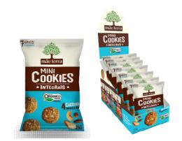 Cookies Orgânico Castanhas Brasileiras 7x25g - Mãe Terra