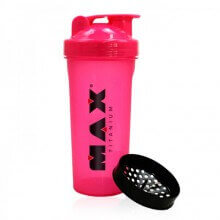 Coqueteleira Shaker Rosa (600ml) - Max Titanium