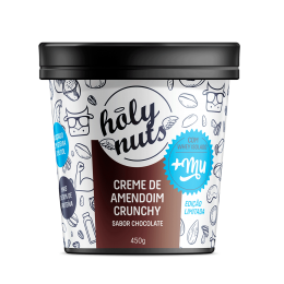 Creme de Amendoim com Whey 450g - Holy Nuts