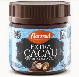 Creme de Avelã Extra Cacau Zero 150g - Flormel