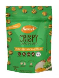 Crispy de Grão de Bico Cúrcuma Cebola e Salsa