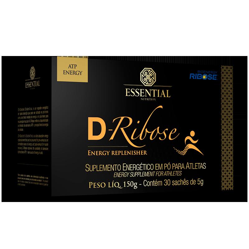 D-Ribose (30 sachês-5g) Essential Nutrition