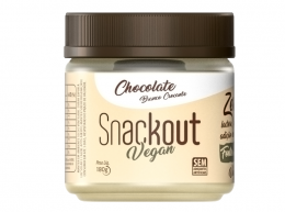 Doce Vegan Chocolate Branco 180g - Snackout