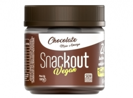 Doce Vegan Chocolate Meio Amargo 180g - Snackout