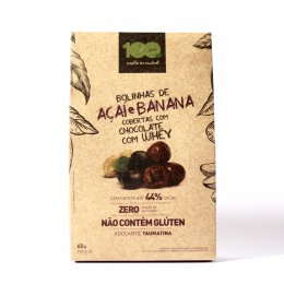 Drageado Mix de Açai e Banana - 100 Foods
