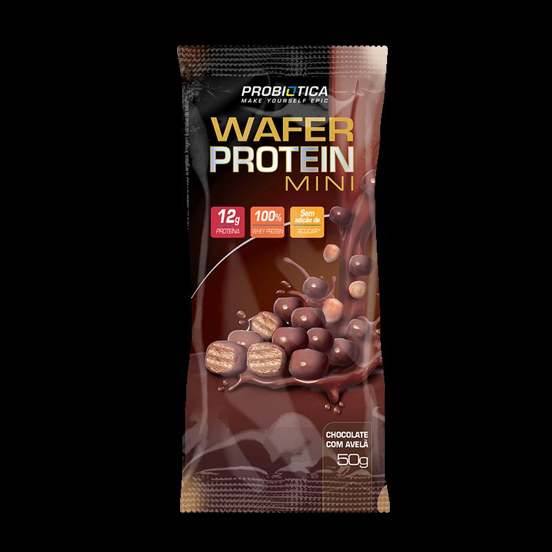 Wafer Protein Mini (Unidade-50g) Probiótica