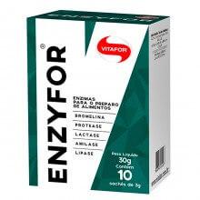 Enzyfor (Enzimas Digestivas) (10saches) - Vitafor