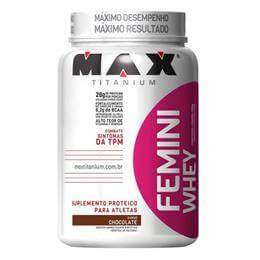 Femini Whey (900g) Max Titanium-Paçoca