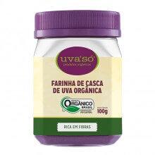 Farinha de Casca de Uva Orgânica UvaSó (100g) - Econatura