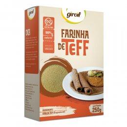 Farinha de Teff 250g - Giroil