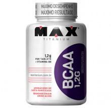 BCAA 1,2G c/ Vitamina B6 (120 tabs) - Max Titanium