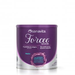 Forcee Hair and Nails Neutro 330g - Sanavita
