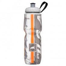 Garrafa Térmica USA Preta e Laranja (710ml) - Polar Bottle