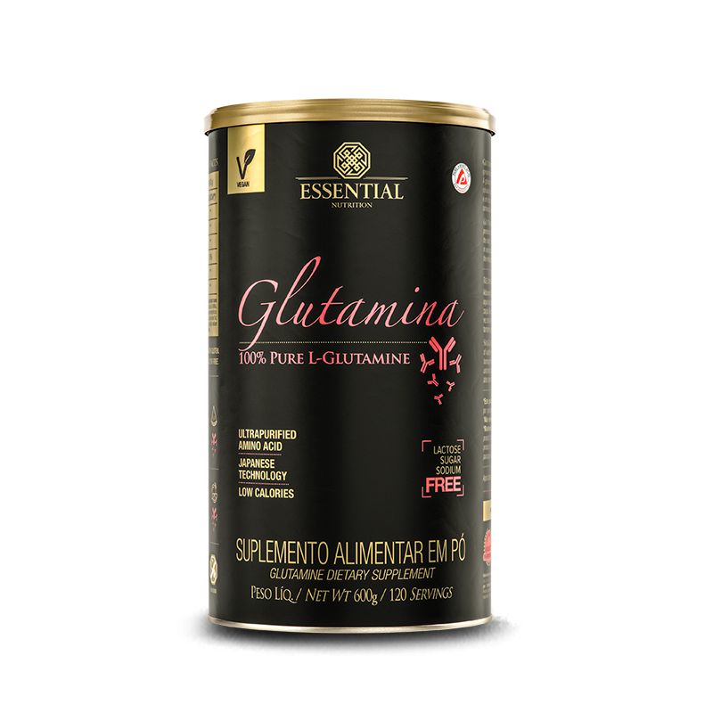 L-Glutamina (600g) Essential Nutrition