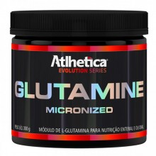Glutamine Micronizada (300g) - Atlhetica Nutrition
